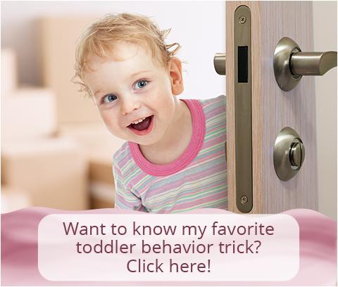 My Favorite Toddler Behavior Trick